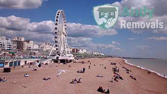 London to Brighton removals