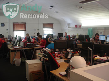 Time efficient office removals in London